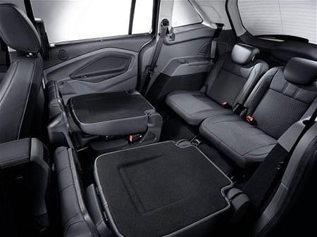 """All-new, 7-seat Ford C-MAX: Ford will launch the all-new, 7-seat C-MAX in North America in late 2011 as a """"whitespace"""" vehicle. (09/15/09)"""